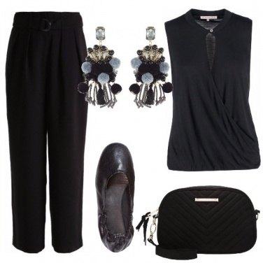 Outfit Aperitivo in nero