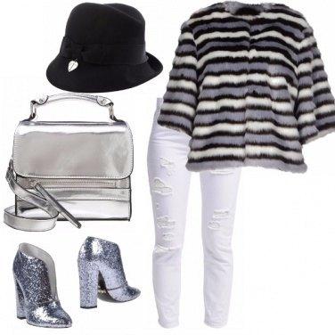 Outfit B&w scintillante
