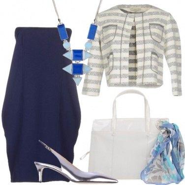 Outfit Vestito tacco medio e via