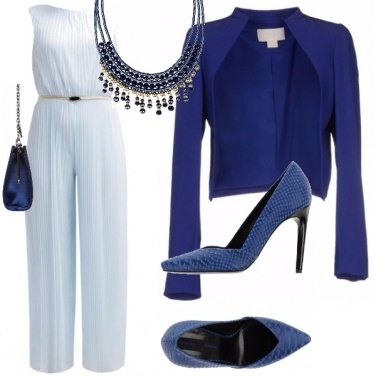 Outfit Blue and light blue