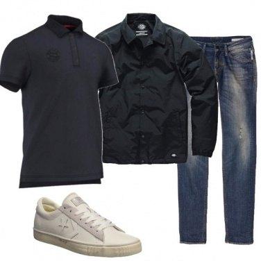 Outfit La giacca impermeabile