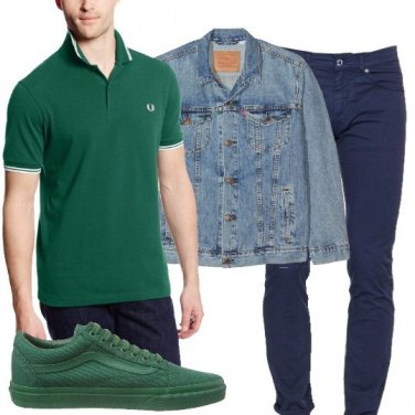 Outfit Il verde