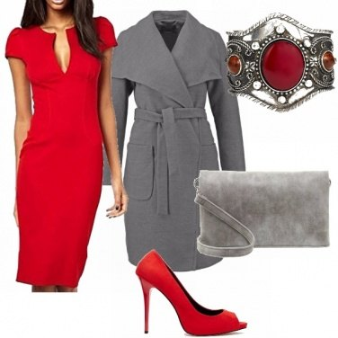 Outfit Low cost red