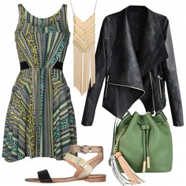 Outfit Fantasia in verde