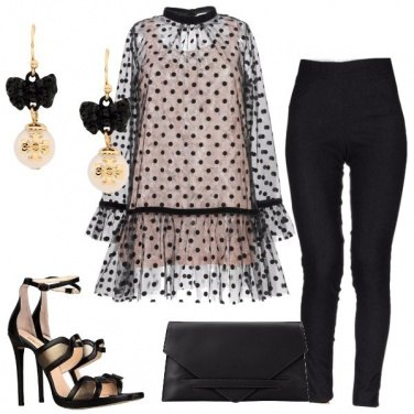 Outfit Raffinati pois