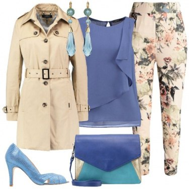 Outfit Mille bolle blu