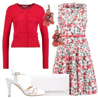 Outfit Aperitivo floreale