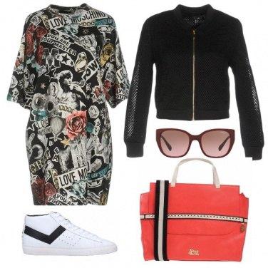 Outfit L\'abito a fantasia glam