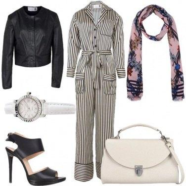 Outfit Elegantemente rock