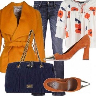 Outfit Pensieri floreali.