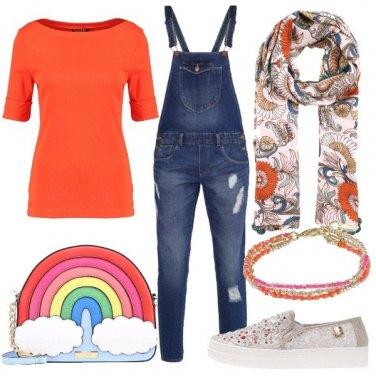 Outfit Un arcobaleno di colori
