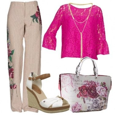 Outfit Un fiore tra i fiori