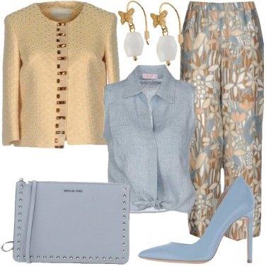 Outfit Romantica carta da zucchero