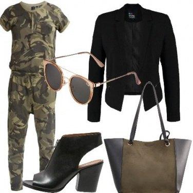 Outfit Jumpsuit militale