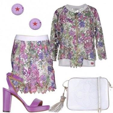 Outfit Romantico pizzo