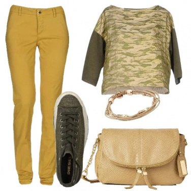 Outfit Punto sull\'oro