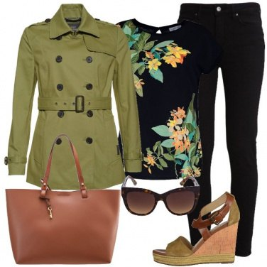 Outfit Femminile in verde