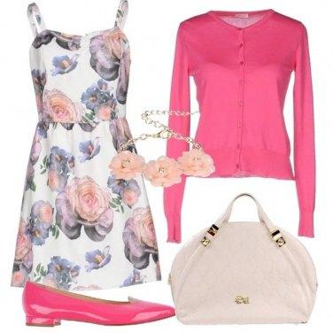 Outfit L\'abito romantico a fiori
