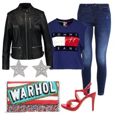 Outfit Pronta per la discoteca