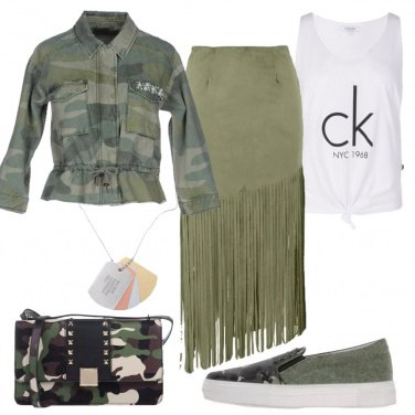 Outfit Ispirazione militare