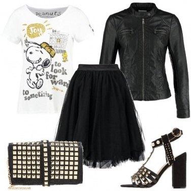 Outfit Bambolina rock
