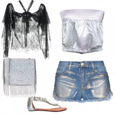 Come abbinare il pantalone corto 98% cotone: 58 Outfit Donna