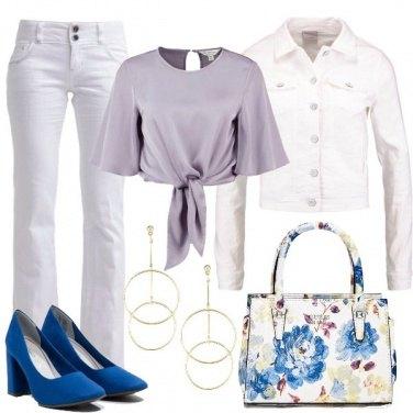 Outfit La borsa a fiori