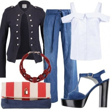 Outfit Blazer navy