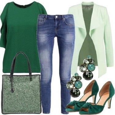 Outfit Passione per il verde