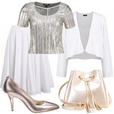 Outfit Riflessi di oro