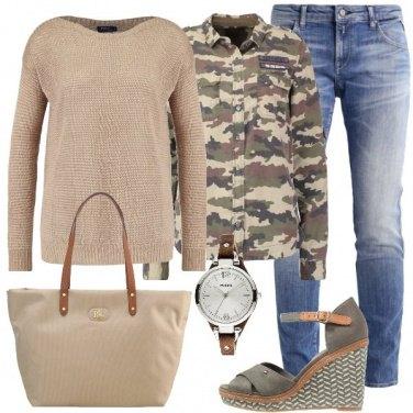 Outfit Tendenze militari