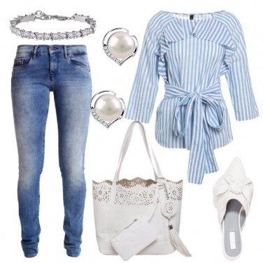 Outfit La camicia oxford rivisitata