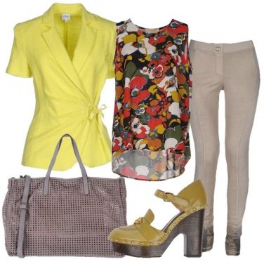Outfit Mocassino tacco 12
