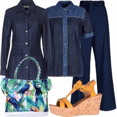 Outfit La borsa tropicale