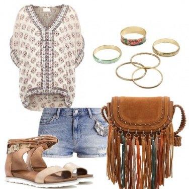 Outfit Sandali flat