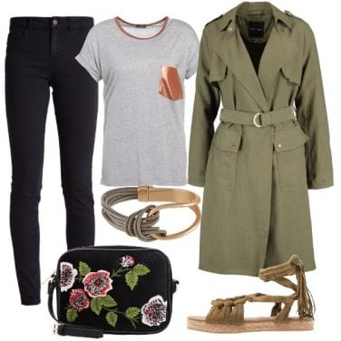 Outfit A spasso con il trench