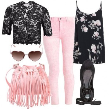 Outfit Romantica magnolia