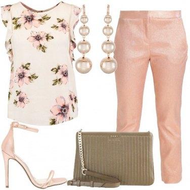 Outfit Petite a fiori
