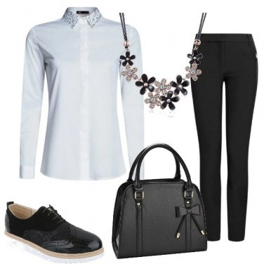 Outfit La camicia e i cristalli