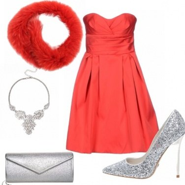 Outfit Immancabile rosso