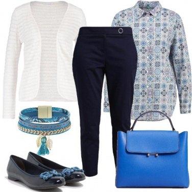 Outfit Fantasia in blu