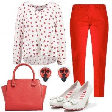 Outfit Voglia di fragole