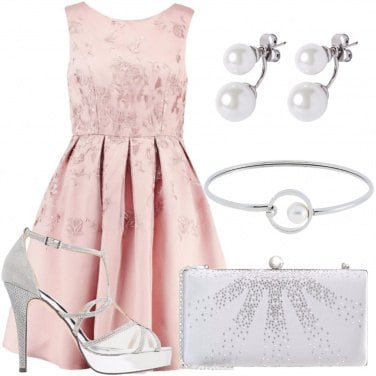 Outfit Dolcezza in rosa