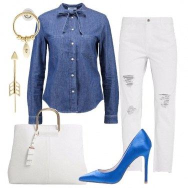 Outfit La camicia in jeans