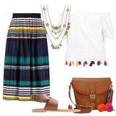 Outfit Nappine e pompon