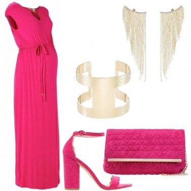 Outfit Una neomamma colorata