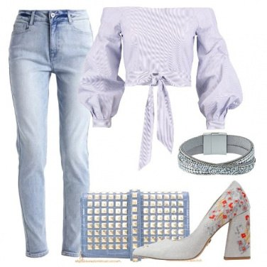 Outfit Con le spalle in evidenza