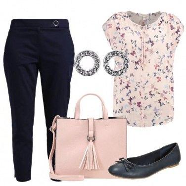 Outfit Semplice con le farfalle