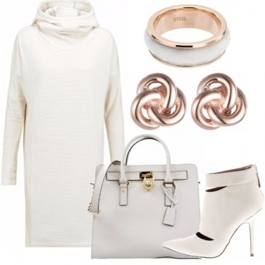 Outfit Total white in minimal.