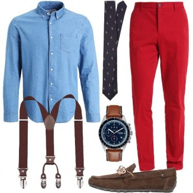 Outfit Inusuale style